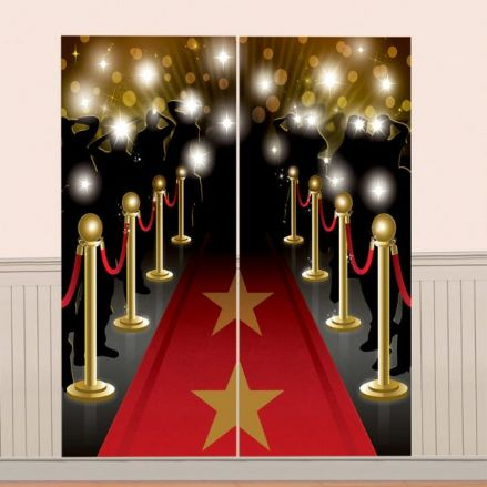 Hollywood Red Carpet Scene Setter Decorations